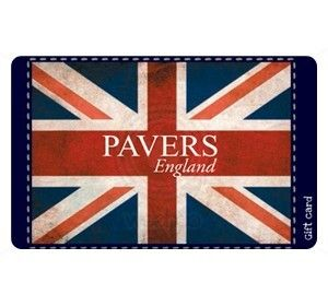 Pavers England Gift Card