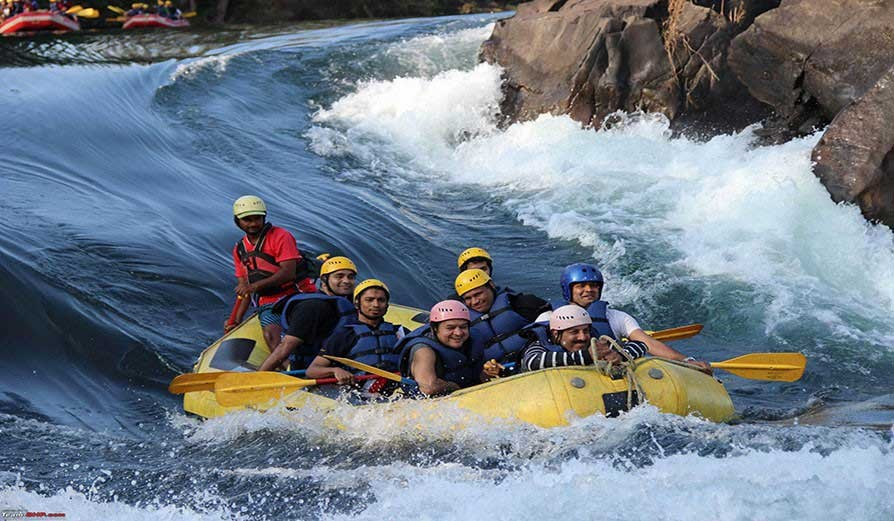 Rafting In Kali Dandeli