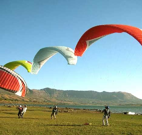 Paragliding And Camping At Kamshet