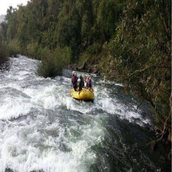 White Water Rafting And Cliff Jumping