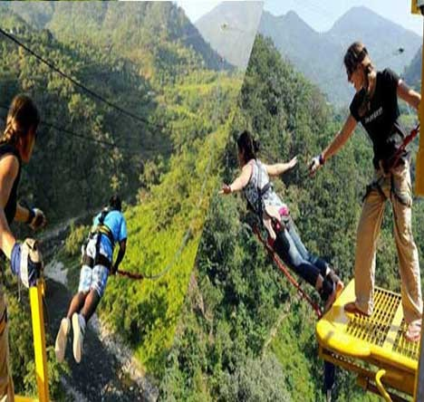 Bungy Jumping and  Giant Swing Combo