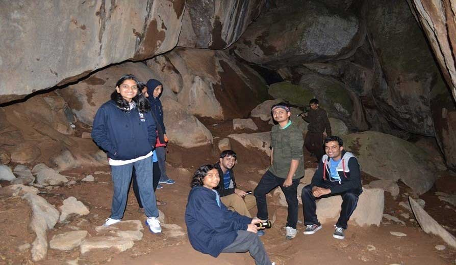 Trekking And Rappelling At Anthargange
