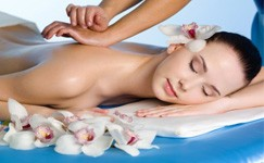 Pain Relieving Massage with steam