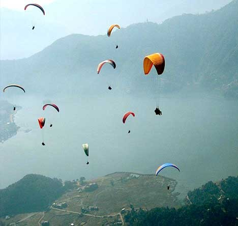 Paragliding And Camping at Bir